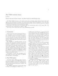 The CNGS neutrino beam - opera - Infn