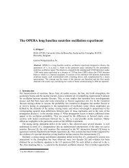 The OPERA long baseline neutrino oscillation experiment