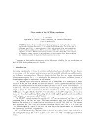 First results of the OPERA experiment This paper is dedicated to the ...
