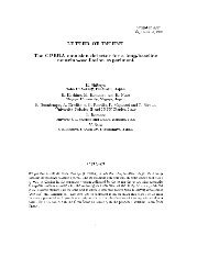 LETTER OF INTENT The OPERA emulsion detector for a long ... - Infn