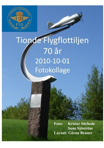 Foto: Krister Sörhede Sune Sjöström Layout: Göran Brauer