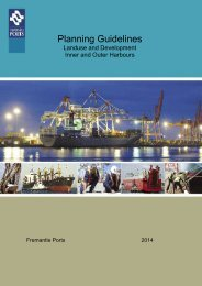 Planning Guidelines - Fremantle Ports