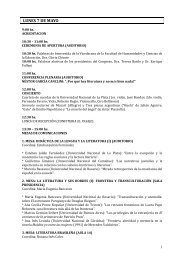 lunes 7 de mayo - Congreso Internacional Orbis Tertius de Teoría y ...