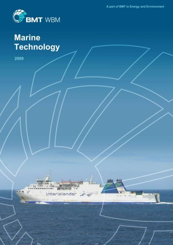Capability Statement - Marine Technology - BMT Group