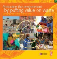 Protecting the environnement by putting value on waste. - Lvia