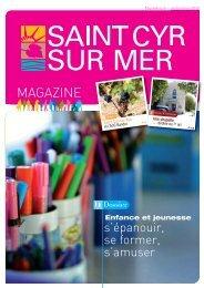 Télécharger le 6 ème numéro-Automne 2010 - Mairie de Saint Cyr ...