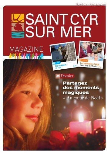 Télécharger le 7 ème numéro-Hiver 2010/2011 - Mairie de Saint Cyr ...
