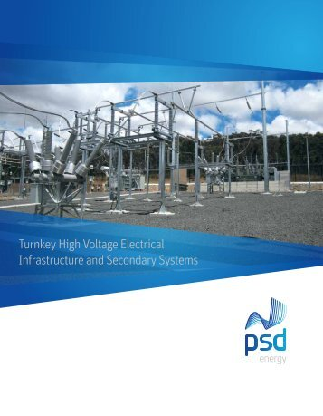 Turnkey High Voltage Electrical Infrastructure and Secondary Systems
