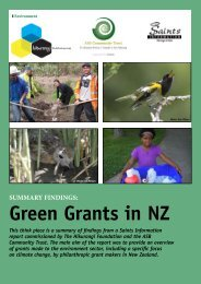 to download a PDF summary of the Green Grants Survey - ASB ...