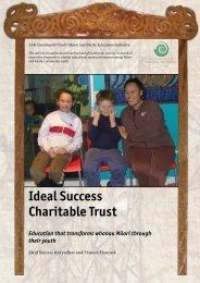 Ideal Success Charitable Trust Education that transforms whanau ...