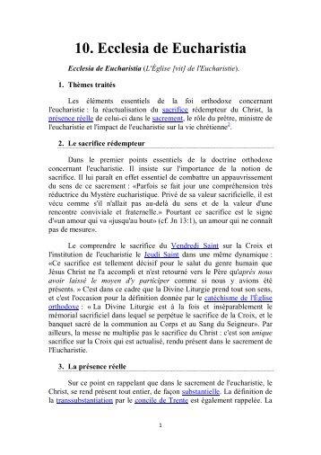 010 Ecclesia de Eucharistia.pdf - Orthodox-mitropolitan-of-antinoes ...
