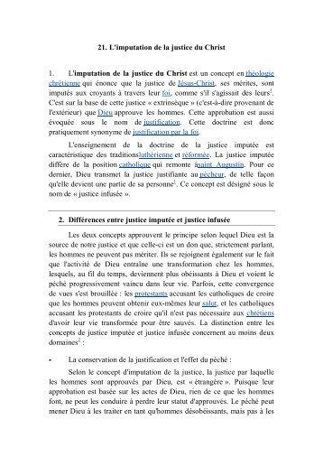 021 L imputation De La Justice Du Christ - Orthodox-mitropolitan-of ...