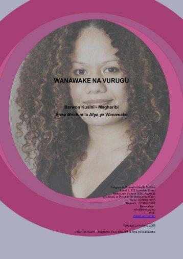 Wanawake na Vurugu - Ishar Multicultural Women's Health Centre