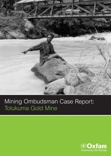 Oxfam Mining Ombudsman Report.pdf - Act Now!