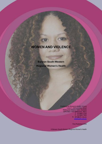 Women and Violence - Ishar Multicultural Women's Health Centre