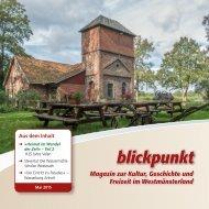 blickpunkt - Magazin zur Kultur, Geschichte und Freizeit im Westmünsterland