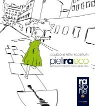 Katalog Bench Pietraeco - Rastone