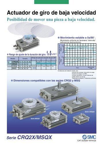 Serie MSQX - SMC ETech
