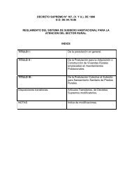 DECRETO SUPREMO N° 167, \(V - Ministerio de Vivienda y ...