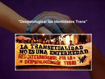 """""""Despatologizar las Identidades Trans"""" - Servicio de Salud Coquimbo"""