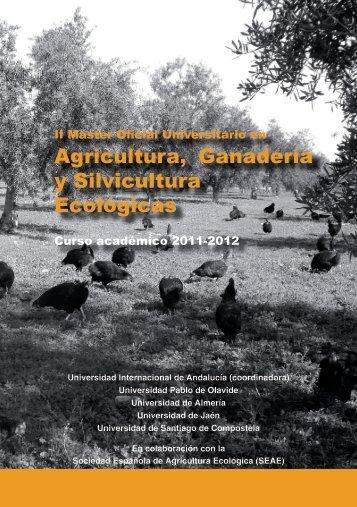 Ver tríptico - Sociedad Española de Agricultura Ecológica