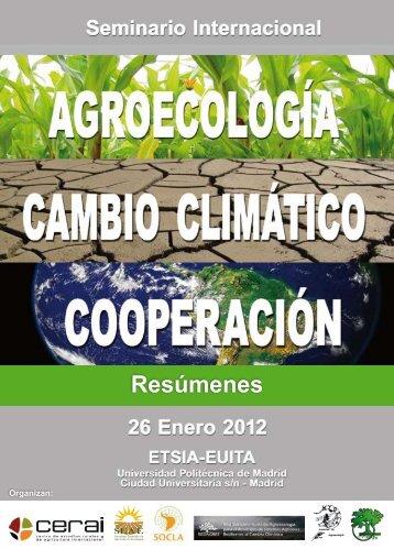 Resúmenes - Sociedad Española de Agricultura Ecológica