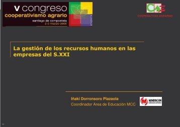 la gestión de los recursos humanos en las empresas del siglo xxi