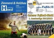 A-Jugend 2011/2012 - SSV Pichl/Gsies