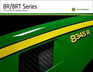 8R Series Tractors Brochure - John Deere