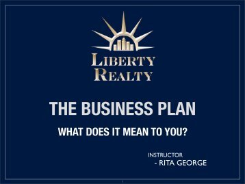 How to create a great Business Plan