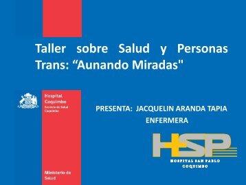 Taller sobre Salud y Personas Trans - Aunando Miradas