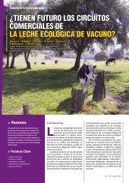 ¿Tienen futuro los circuitos comerciales de leche ecológica