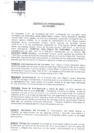 CONTRATO DE ARRENDAMIENTO - Servicio de Salud Coquimbo
