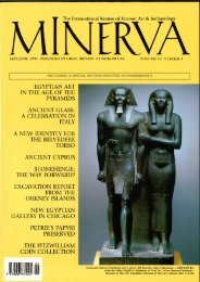 The International Review of Ancient Art 8r Archaeology - Minerva