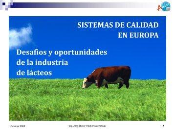 SISTEMAS DE CALIDAD EN EUROPA Desafios y oportunidades de ...