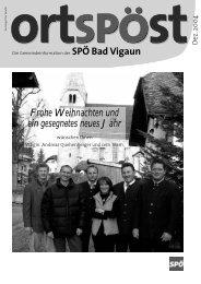 Ortspost Dezember 2004 - SPOE Bad Vigaun