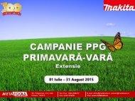 Campanie Makita vara 2015