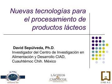 Nuevas Tecnologías para el procesamiento de productos lácteos