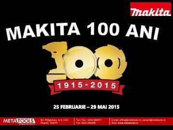 Campanie aniversara Makita