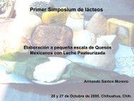 Elaboración de quesos mexicanos con leche pasteurizada