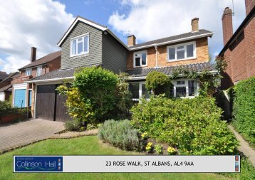 23 ROSE WALK, ST ALBANS, AL4 9AA - Collinson Hall