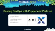 Scaling DevOps with Puppet and Perforce