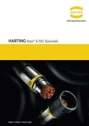 HARTING Han X-Tec - Kurzinfo German