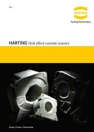 HARTING Hall effect current sensors - Flyer English