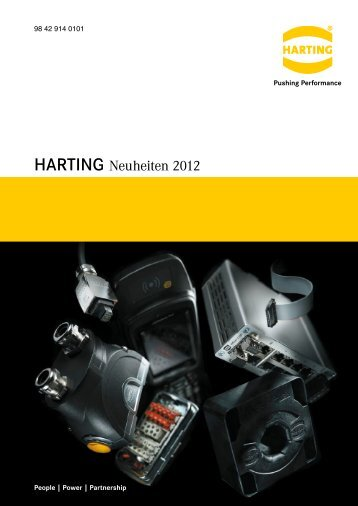 HARTING Neuheiten 2012 - Flyer 98 42 914 0101