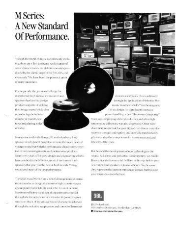 jbl sound system design reference manual