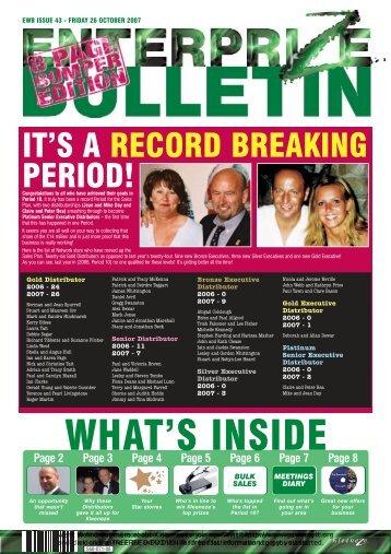 EWB ISSUE 43 - Kleeneze