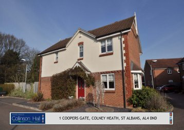 1 coopers gate, colney heath, st albans, al4 0nd - Collinson Hall