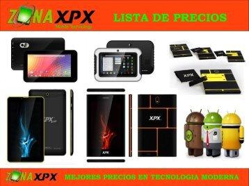 ZONA XPX LISTA DE PRECIOS