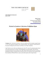Warhol in Southern Collections Exhibition Open - The Columbus ...